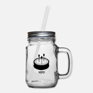 Bday B'day - Mason Jar
