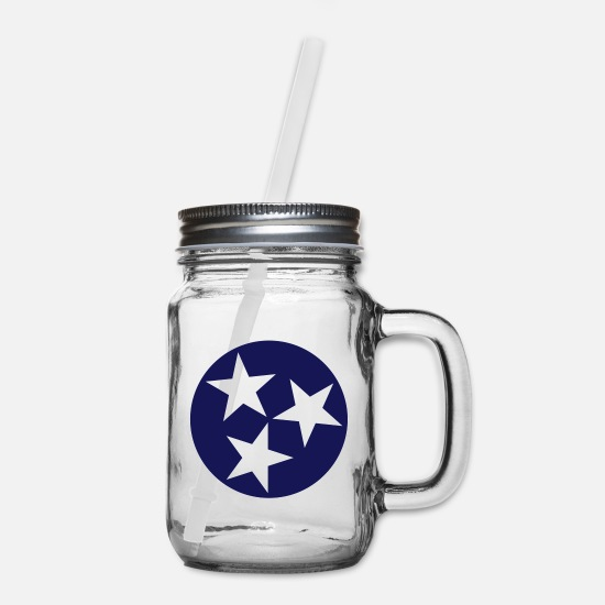 Tennessee Mugs & Drinkware - Tennessee - Mason Jar clear