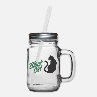 Black Cat Black Cat - Mason Jar