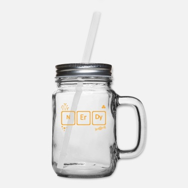 Chemistry Chemistry Science Nerdy But Periodically - Mason Jar