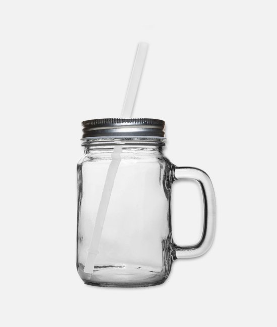 Hands Mugs & Cups - 90s 1990s - Nineties Party - Mason Jar clear