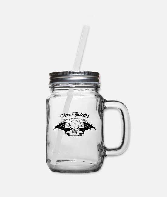 Young Mugs & Cups - Shadowhunters - Nox Invictus Bike Club - Mason Jar clear