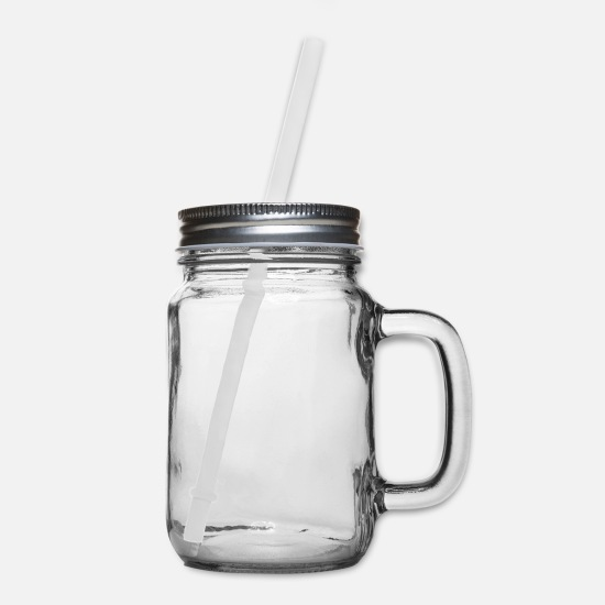 Body Builder Mugs & Drinkware - Fear Lack of Progress - Fear Being Average - Mason Jar clear