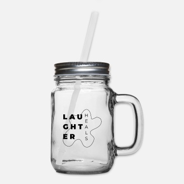 Laughter Laughter - Mason Jar