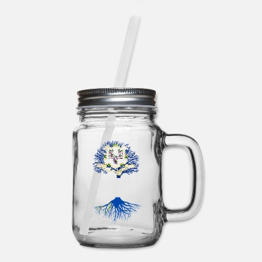 Living in Connecticut With Nevada Roots - Mason Jar
