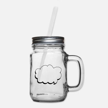 Speech Balloon speech balloon - Mason Jar
