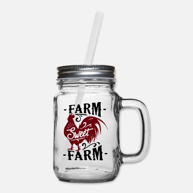 Farming Farm sweet farm - Mason Jar