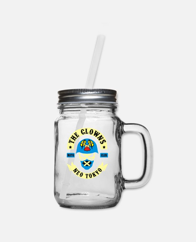 Movie Mugs & Cups - The Clowns Neo Tokyo - Mason Jar clear