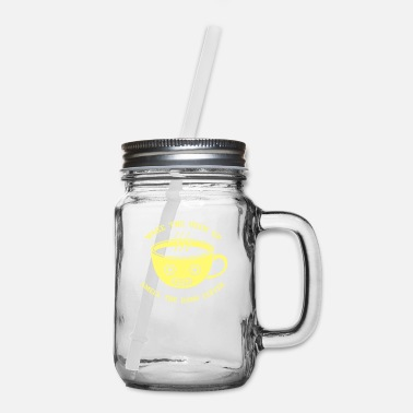 Smell Smell The Coffee - Mason Jar