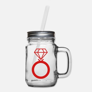 Diamond Ring Diamond ring - Mason Jar
