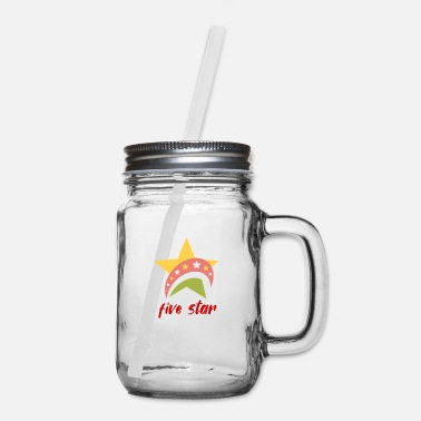 Five Stars Five star - Mason Jar