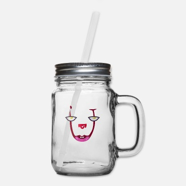 Horror Lover Horror Scary Clown - Mason Jar