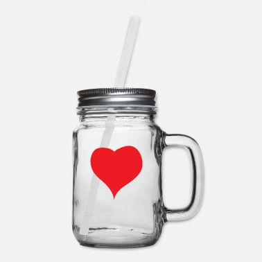 Red Heart Red Heart - Mason Jar