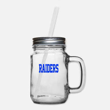 Raider Raiders - Mason Jar