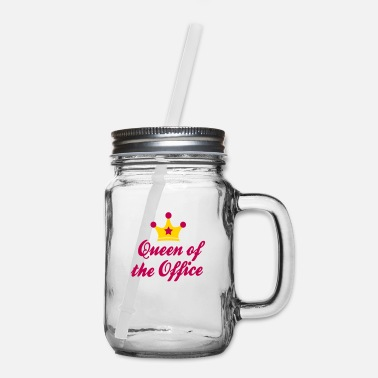 The Office office - Mason Jar