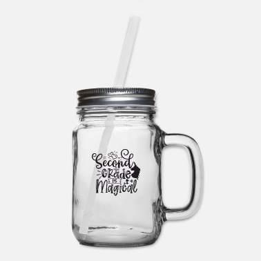 Cookie Present Second Grade Is Magical - Mason Jar