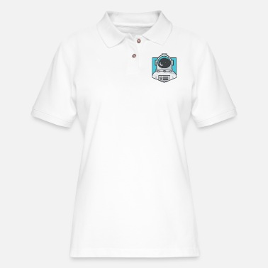 The Astronaut - Women's Pique Polo Shirt