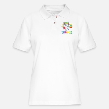 Tommy Tommie Unicorn - Women's Pique Polo Shirt