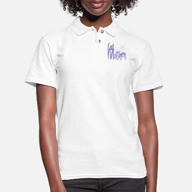Cat Mother - Women's Pique Polo Shirt