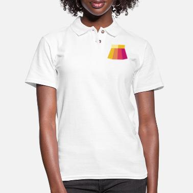 Skirt 009 skirt - Women's Pique Polo Shirt