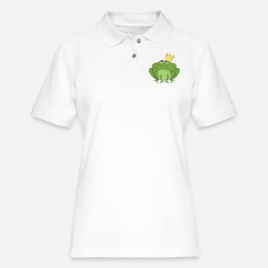Frog King Frog King - Women's Pique Polo Shirt
