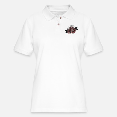 Music School Old School Music - Women's Pique Polo Shirt