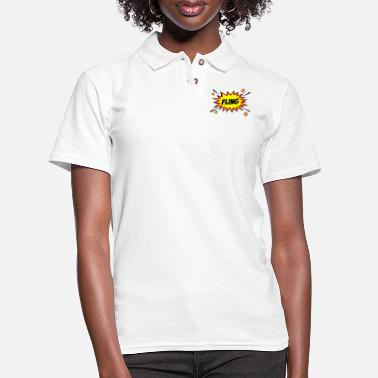 Fling Fling! - Women's Pique Polo Shirt