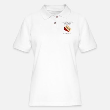 Constitutional Cheesy Constitution - Women's Pique Polo Shirt