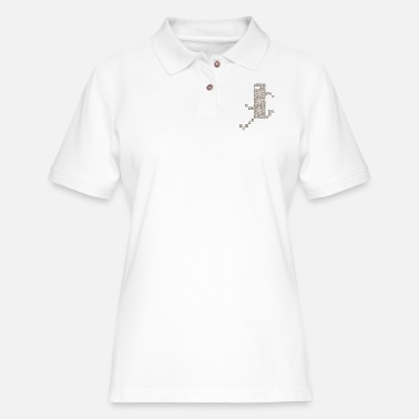 Bit Bit Beat - Bit Trip - Women's Pique Polo Shirt