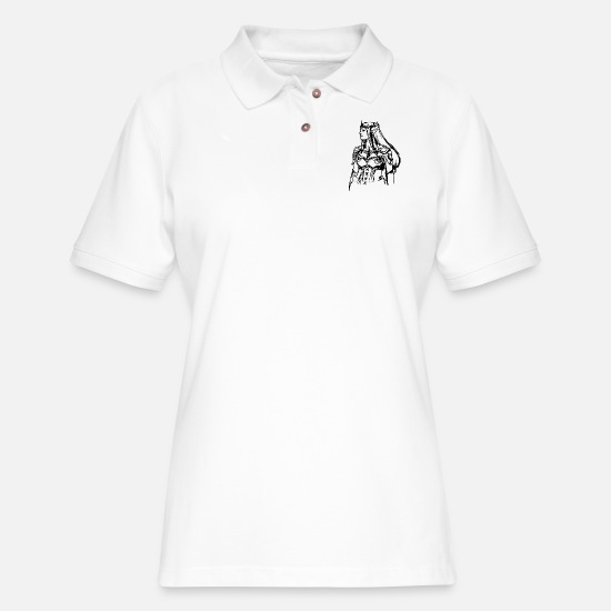 Pixie Polo Shirts - einhorn elfe prinzessin fee meerjungfrau zauberer5 - Women's Pique Polo Shirt white