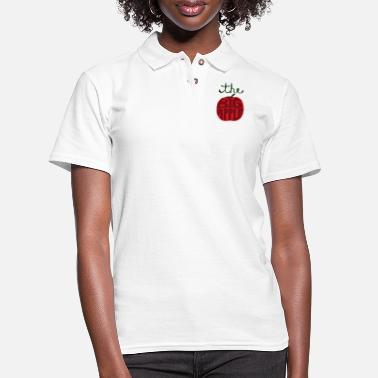 Big the big apple - Women's Pique Polo Shirt