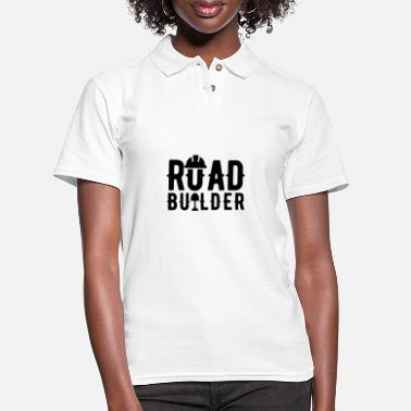 Building Build - Women's Pique Polo Shirt