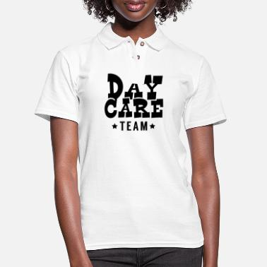 Daycare Daycare Team - Women's Pique Polo Shirt