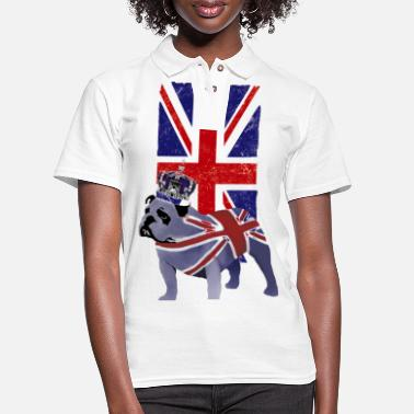 Jack Union Jack Flag UK - Women's Pique Polo Shirt