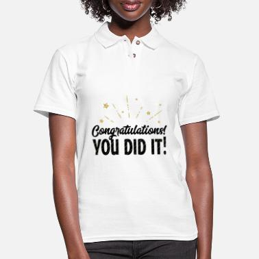 Congratulations Congratulations - Women's Pique Polo Shirt