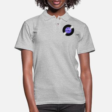 Record Fortune Record Label - Women's Pique Polo Shirt