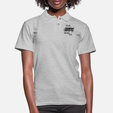 You are not the boss of me. - Women's Pique Polo Shirt