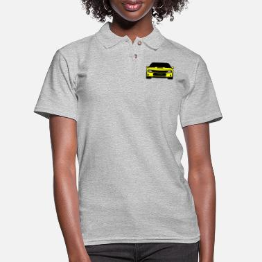 Dodge Charger Dodge Charger srt hellcat - Women's Pique Polo Shirt