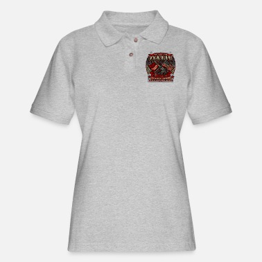 Constitutional Defend The Constitution - Women's Pique Polo Shirt