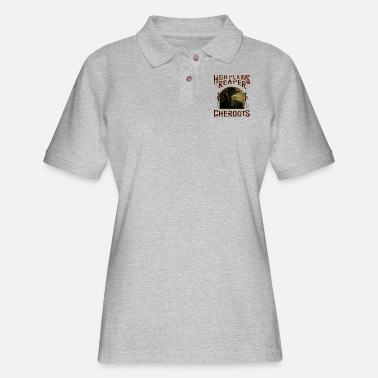 Cigarrillo High Plains Reaper Cheroots - Women's Pique Polo Shirt
