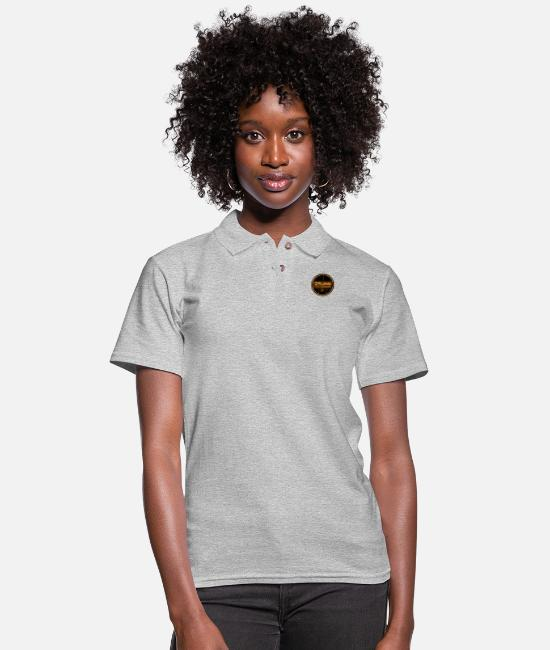 Guitar Polo Shirts - Drums Professional - Women's Pique Polo Shirt heather gray