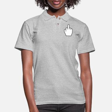 Finger THE FINGER - Women's Pique Polo Shirt