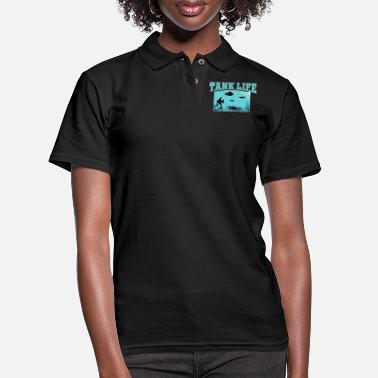 Aquarium Aquarium - Women's Pique Polo Shirt