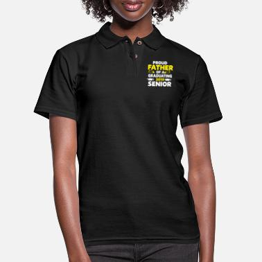 Proud Proud father Father's day gift - Women's Pique Polo Shirt