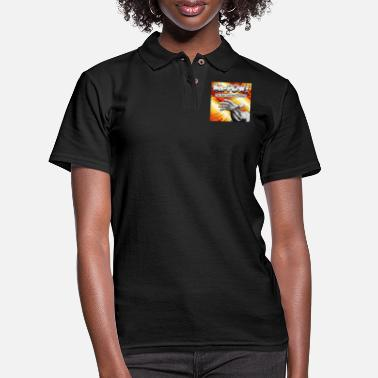Culture Ka-Pow! The Pop Cultured Podcast - Women's Pique Polo Shirt
