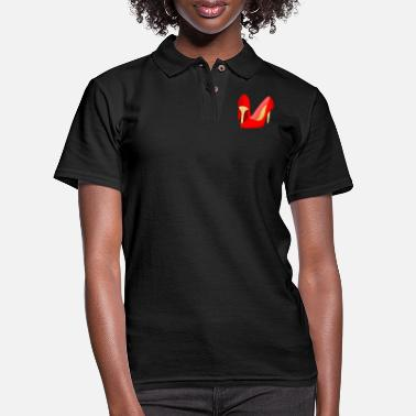 High Heel High Heels - Women's Pique Polo Shirt