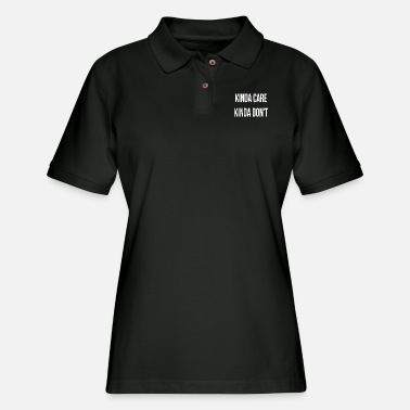 Beer kinda care - Women's Pique Polo Shirt