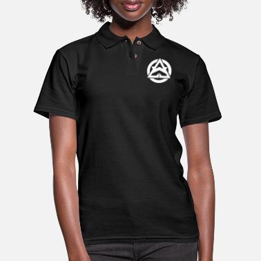Faction White Faction Logo T-Shirt - Women's Pique Polo Shirt