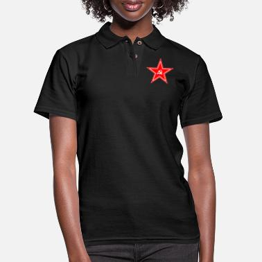 Soviet Soviet Union Star - Women's Pique Polo Shirt