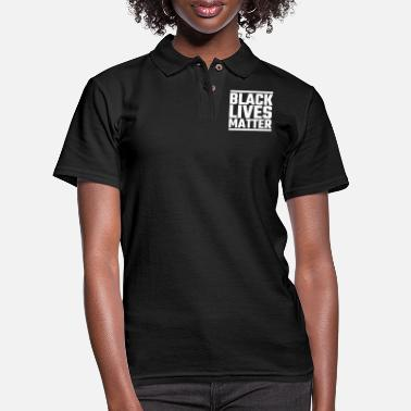 Black Black Lives Matter - Black Lives Matter - Women's Pique Polo Shirt